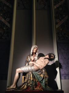 Pietà in de Sint Servaasbasiliek.