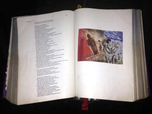 De oorsprong van afgodsbeelden met illustratie van Marcus van Loopik in de OLV basiliek.